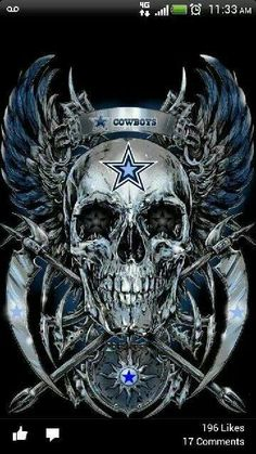 Dallas cowboys skull cowboys 4life pinterest cowboys dallas cowboys skull this is pretty cool looking and would consider purchasing must find out from where i can get this voltagebd Images