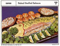 Complete Family Recipe Card Series Collection, 1973