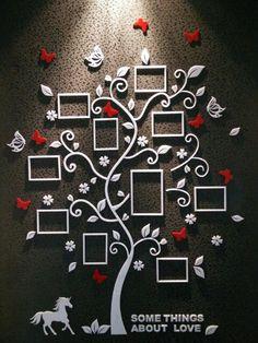 tree wall stiker 23333 http://www.aliexpress.com/item/Photo-frame-crystal-acrylic-3d-three-dimensional-wall-stickers-entranceway-photos-of-wall-sofa-happy-tree/2016388339.html