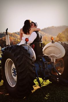 take a ride on my big green tractor;)