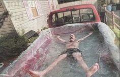 Pick Up Truck Swimming Pool | 31 Redneck DIYs That Are BorderlineGenius