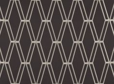 A large scale, jacquard woven diamond design, with an enticing metallic effect on a lustrous cotton satin ground. Decorative Weave Designer Fabrics & Wallcoverings, Upholstery Fabrics