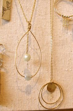 Delicate handmade jewelry by designer Anne Alais