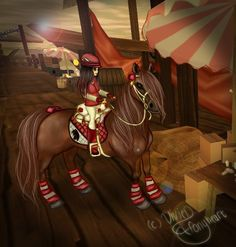 My Aria and her ScarletBelle ♥ Edit by Vivien Ponyheart ^-^