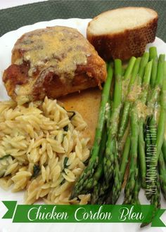 Chicken Cordon Bleu: My Mom Made That! (An easy version on this classic #French #Chicken #Recipe)