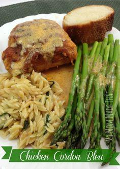Chicken Cordon Bleu-- My Mom Made That