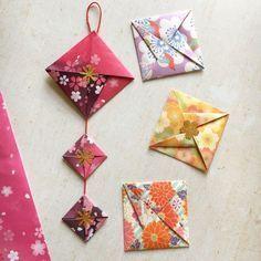 簡単に折れて なかなか姿のいい飾りです 半分のサイズの折り紙で出来るので 半端な折り紙などを活用できます ⚠注 […]