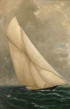 S. Volger Spence Biography and Maritime Paintings and Art - Meteor II - Vallejo Maritime Gallery