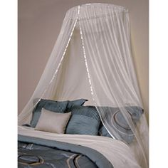 Ceiling flush canopy is a beautiful addition to any bedroom Decorative accessory features elegant sheer design Canopy will add a splash of class to your bedding ensemble