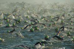 "The ""wash machine"" -- swimming in an Ironman triathlon"