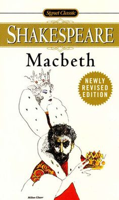 Macbeth (1623) by William Shakespeare. Lady Macbeth is way more ambitious than her husband. She first starts her scheming after getting Macbeth's message and later she has to goad him to commit murder so that she could become queen.