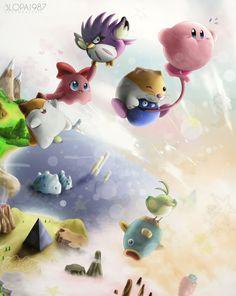 Kirby Dream Land 3 by Blopa1987.deviantart.com on @deviantART