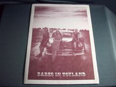 """Babes in Toyland, """"Nemesister,"""" Promotional Photo and Handwritten Fanzine, Cool"""