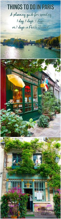 Hidden Things To Do In Paris! Planning Tips for 1 Day in Paris Up to 7 Days in Paris on ASpicyPerspective.com #travel