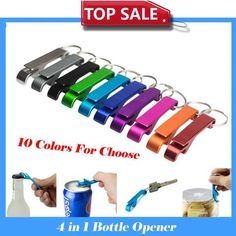 10X 2 Color Portable Wall Mount Bottle Opener Bar Club Wine Beer Soda FAST