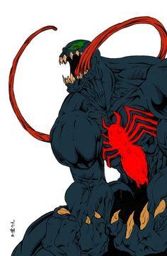 Venom by commanderlewis.deviantart.com on @deviantART