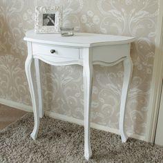 Classic White Range   Half Moon Table