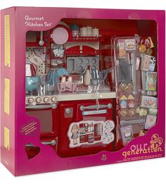 Our Generation Gourmet Kitchen Set - New Color! | American Girl Doll ...