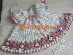 vestido crochet estilo romantico