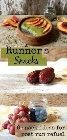Snacks and healthy eating tips for after your run or workout! #running #fitness
