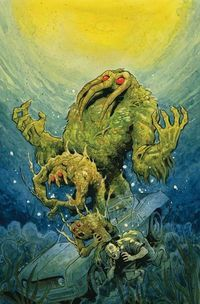 R.L. Stine Brings His Special Brand of Horror to Man-Thing  Young biochemist Ted Sallis was working in the Everglades as part of a secret team known as Project: Gladiator. The teams mission was to recreate the Super-Soldier Serum that gave Captain America Steve Rogers his abilities.  Dr. Sallis breached protocol on the site by allowing his lover Ellen Brandt to accompany him in the lab. When Sallis discovered his girlfriend was a double agent who had sold him out he destroyed his written…