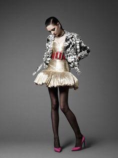 Meet the Artist Behind Saint Laurent's Couture Moto Jacket