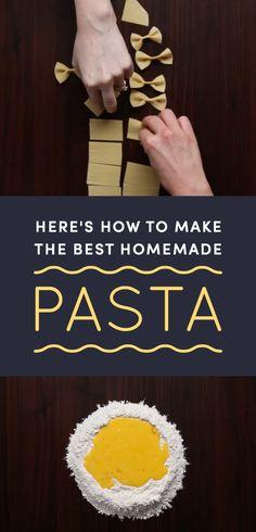 Become a true pasta master.You can find Homemade pasta and more on our website.Become a true pasta master. Pot Pasta, Pasta Noodles, Pasta Dishes, Semolina Flour Recipe, Homemade Pasta Dough, Homemade Pasta Recipes, Egg Pasta Dough Recipe, Ravioli Pasta Recipe, Homemade Dough Recipe