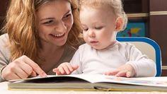 Bébé et l'acquisition du langage : Commencez à raconter des histoires à l'aide de livres simples et très imagés, le plus tôt possible…