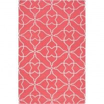 Frontier Honeysuckle Pink Geometric Rug