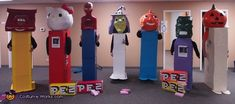 Pez Candy Group Halloween Costume