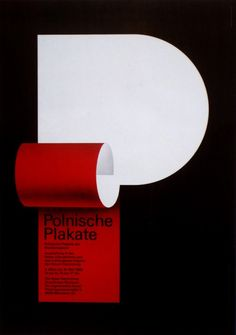 poster  Amazingly simple poster by Pierre Mendell from the exhibit and book Posters by the Members of the Alliance Graphique Internationale 1960 – 1985.