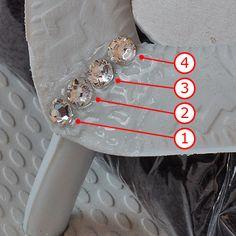 How to Make Swarovski Crystal Flip Flops Tutorial