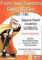 Foire aux santons à Loriol (Drôme) le dimanche 16 octobre 2016