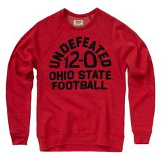 Celebrating the #Buckeyes' Undefeated season with a new Tee & Crewneck! #GoBucks #OhioState   This is totally going to be a Christmas gift to myself!  Go Bucks!!!