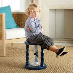 time out stool...cute