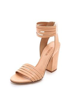 Vince Lara banded sandals ($375) are just downright gorgeous.