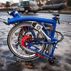 Custom Rohloff Brompton 1 by Ben Cooper, via Flickr