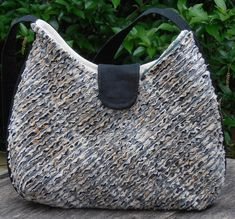 Faux chenille Bag