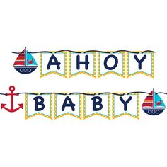 ahoy matey baby shower table cloth
