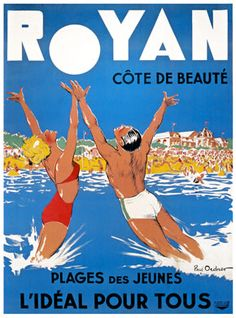 Royan par Paul Ordner vers 1930