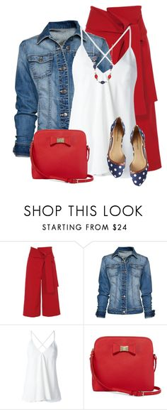 """Denim Jacket"" by daiscat ❤ liked on Polyvore featuring TIBI, MANGO, Dondup, Liz Claiborne and Kim Rogers"