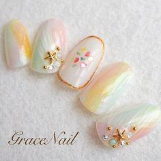 「貝殻で夏を感じる指先に…大人可愛いシェルネイルのデザイン集」のまとめの画像|MERY[メリー] http://mery.jp/images/889435?from=mery_ios