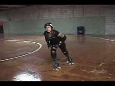 Roller Derby - How to do a Power Slide
