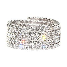 Ishida Crystal Wrap Bracelet