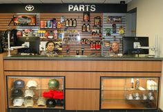 toyota auto parts showroom - Google Search