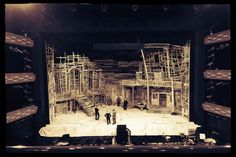 Porgy and Bess. The Royal Danish Opera. Scenic design by Liz Ascroft.