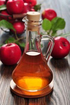 Apple Cider Vinegar in a Small Glass Jug