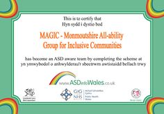 MAGIC - Monmouthshire All Ability Group for Inclusive Communities