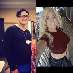 Amazing transformation Ariya Bliss This is only possible because of surgery and make up. Male To Female Transition, Mtf Transition, Fitness Motivation Photo, Motivation Goals, Health Motivation, Transgender People, Transgender Girls, Transgender Before And After, Mtf Hrt