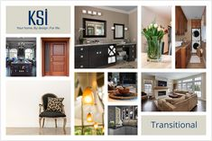 I took KSI's quiz to define my interior design style. My result was Transitional. What's yours?  Define your style at http://style.ksikitchens.com/.
